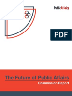 PRCA's 'Future of Public Affairs Report' - November 2013