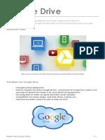Werken Met Google Drive - Handleiding