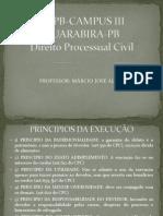 AULA I UEPB-CAMPUS III PROCESSO CIVIL EXECUÇÃO (1)