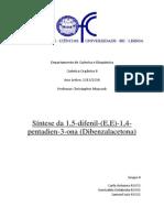 Química Org II-dibenzalcetona