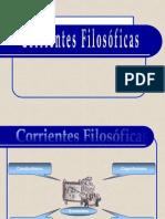 Corrientes Filosoficas y Educacion
