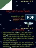 BÁO CÁO CA LÂM SÀNG