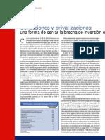 Concesiones y Privatizaciones