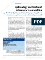 Diagnosis, Epidemiology and Treatment of Inflammatory Neuropathies