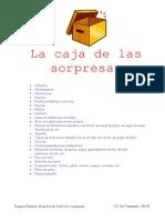 8751740 La Caja de Las SorpresasEugenia Romero