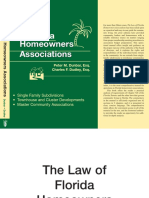 The Law of Florida Homeowners Associations by Peter Dunbar and Charles Dudley
