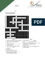 The Apprentice S 8 Ep 3 Crossword Puzzle G B