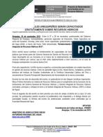 BOLETÍN DE PRENSA - ANA TALLER GERENCIA MEDIA