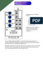 EFM Keyboard Interface