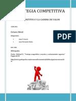 Ventaja Competitiva y Cadena de Valor-Informe
