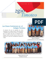 Agosto--Octubre 2013 Timoteo (Espanol)