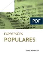 TIC - Texto Apoio (Expressoes Populares)