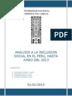 Analisis a La Inclusion Social en El Peru (Terminado)