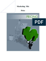 Marketing Mix - Price