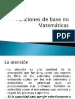 Funciones de base no Matemáticas