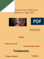 6 Nov Fundamentos de La Educ Parv