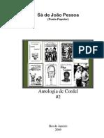 Sá de João Pessoa - Antologia de Cordel #2