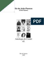 Sá de João Pessoa - Antologia de Cordel  #3