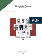 Sá de João Pessoa - Antologia de Cordel  #4