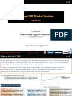 GSA Global LTE Market Update 010813