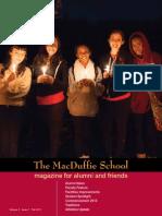 2013 MacDuffie Alumni Magazine (Chinese)