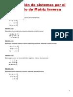 Teorema de Rouche y Regla de Cramer