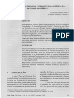 PORTELA Filho-O Metodo Dialetico Na Introducao AA Critica Da Economia Politica