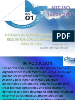 NTC ISO 14001 Capitulo 0,1,2,3
