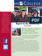 Gavilan College Fall 2013 Report to the Community