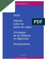 EASO - Estrategias Talibán Afganistán