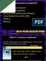 fregments grammarnotes