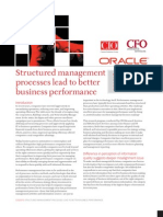 Structured Management Sucess for Better Performance