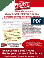 Tract Front de Gauche 63 Marche 1 Decembre (1)