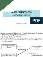 Kuliah Sosiologi (10) - Teori Pertukaran