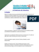 Como Curar el Síndrome de Intestino Irritable
