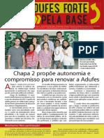 Jornal Adufes Forte Pela Base!