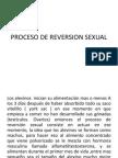 Proceso de Reversion Sexual