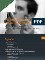 Final Presentation - Clean Edge Razor