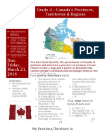 grade 4 provinces - culminating task description