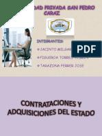 W-Contrataciones y Adquisiciones Del Estado