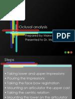 Oclusal Analysis