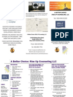 Rise Up Counseling Brochure