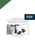 Em busca da segurança hídrica no Munmicípio de Sousa
