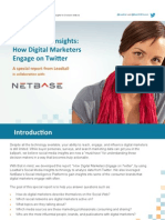 Leadtail Social Media Insights Report Digital Marketers Q22013