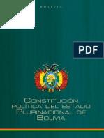 Constitución del Estado Plurinacional (CEP) Bolivia