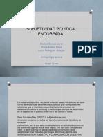 Subjetividad Politica Encorpada