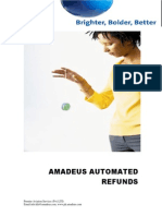 Amadeus Automated Refund Steps