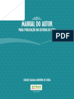 Manual Do Autor Na Editora Do IFRN
