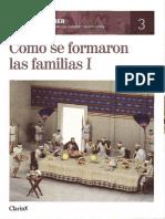 3.- Cómo se formaron las familias I
