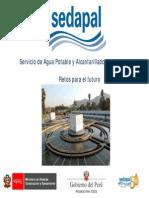 Presentación Sr. Gustavo De Vinatea Bellatín - SEDAPAL